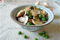 豌豆烧口蘑